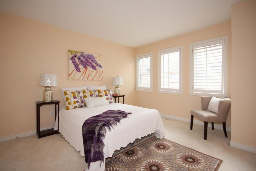 Bedroom, 20 William Poole, Toronto Home Staging