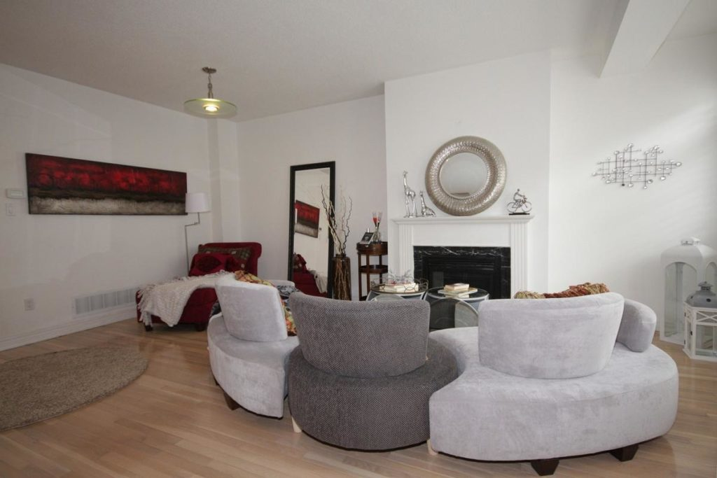 Fireplace, 20 William Poole, Toronto Home Staging