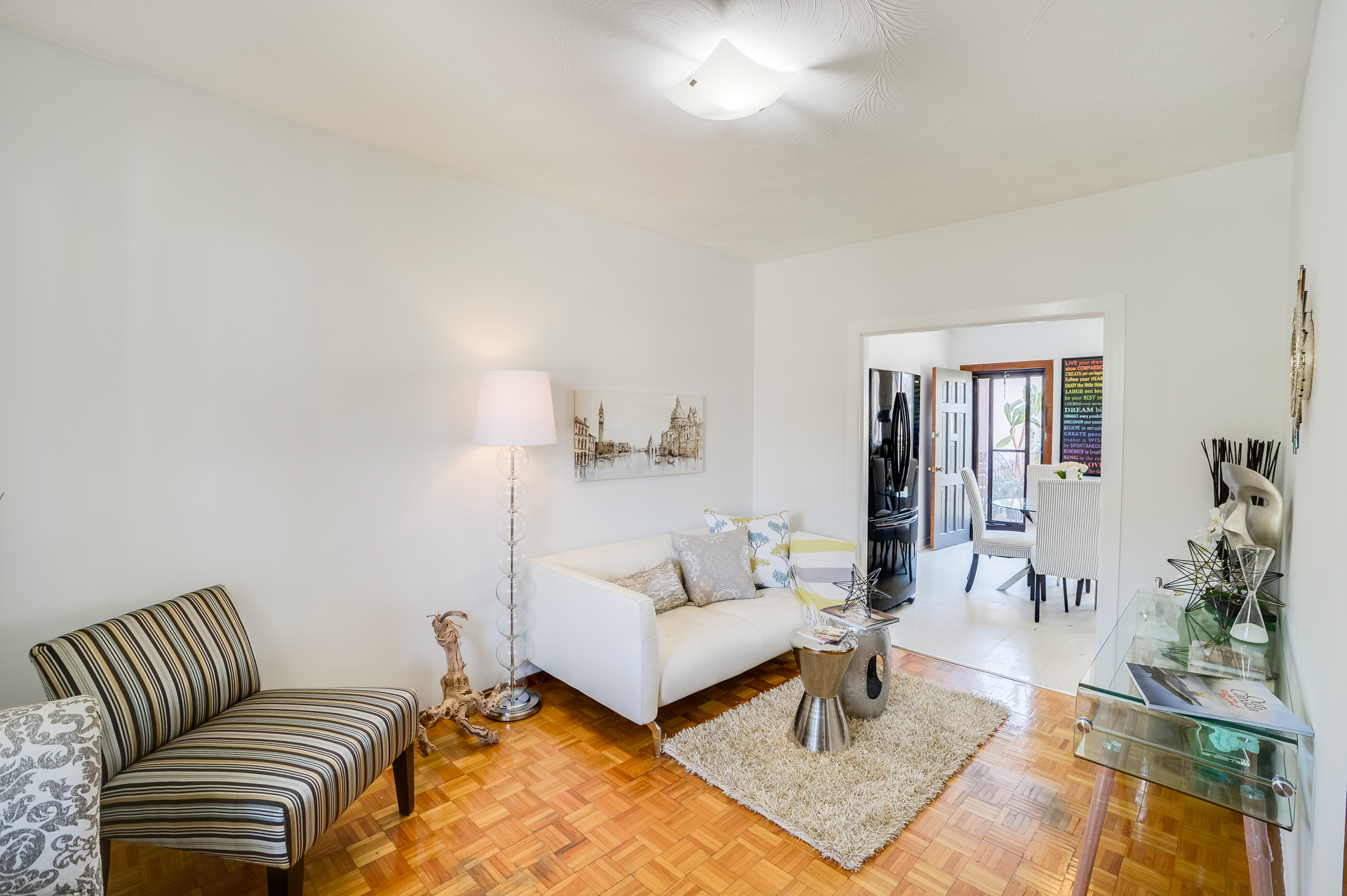 Living Room, 272 McRoberts, Toronto Home Staging