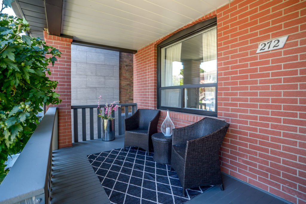 Porch, 272 McRoberts, Toronto Home Staging