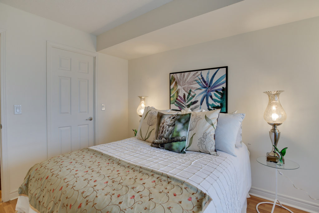 Second Bedroom, 60 Fairfax, Scarborough Condo Staging