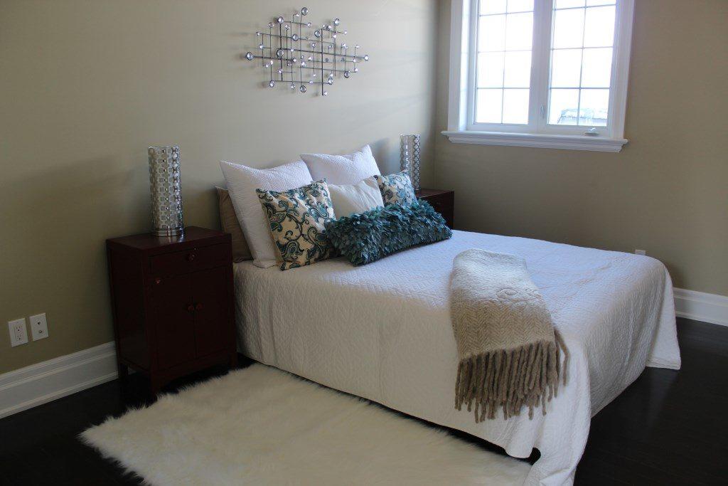 Bedroom, 301 Cedarvale, East York Home Staging