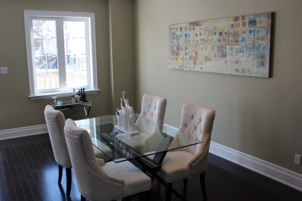 Dining Room, 301 Cedarvale, East York Home Staging