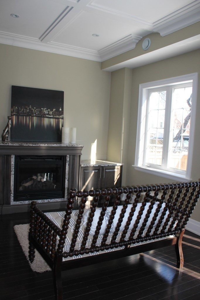 Fireplace, 301 Cedarvale, East York Home Staging