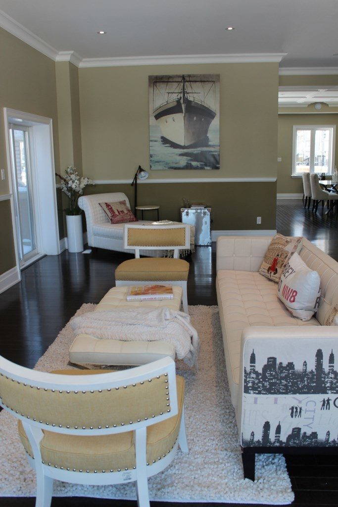 Living Room, 301 Cedarvale, East York Home Staging