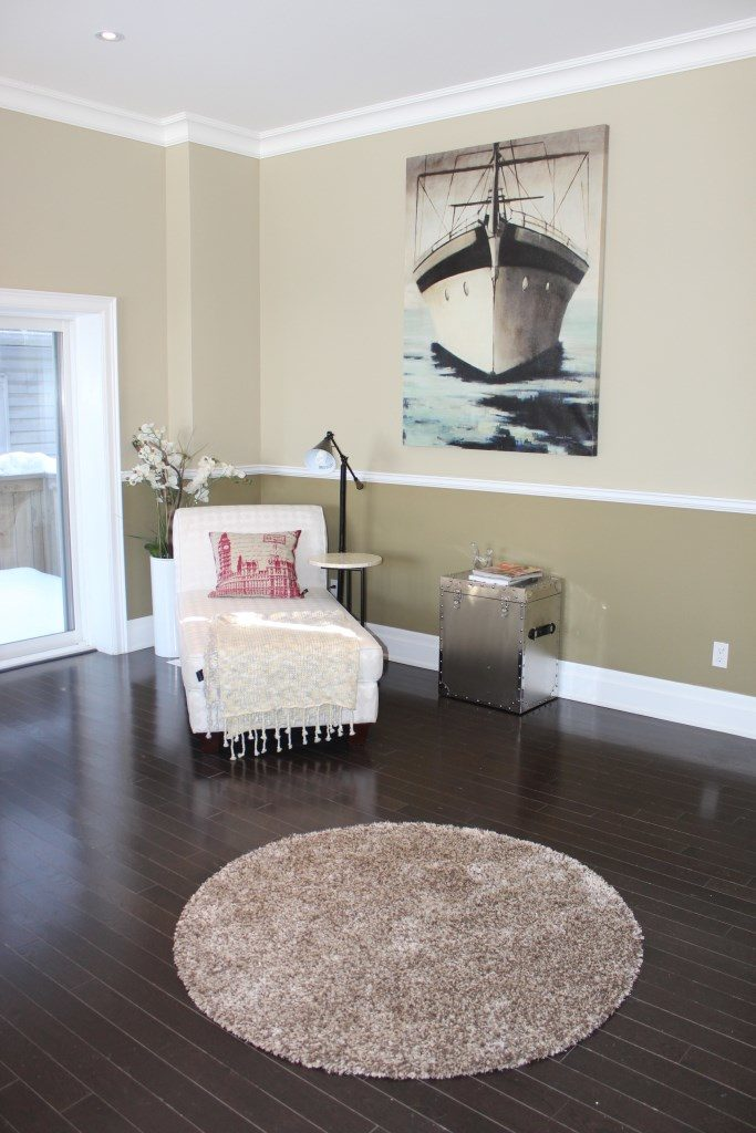 Reading Room, 301 Cedarvale, East York Home Staging