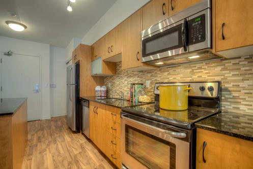 Kitchen, 59 East Liberty, Toronto Condo Staging