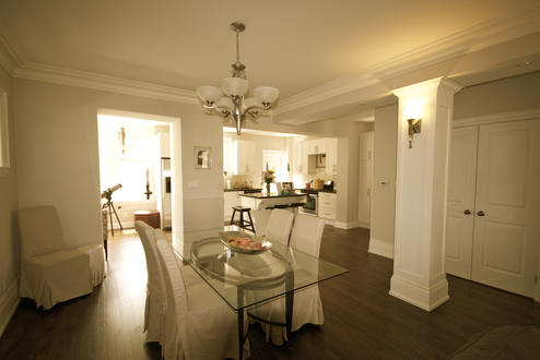 Dining Room, 79 St. Clements, Toronto Home Staging