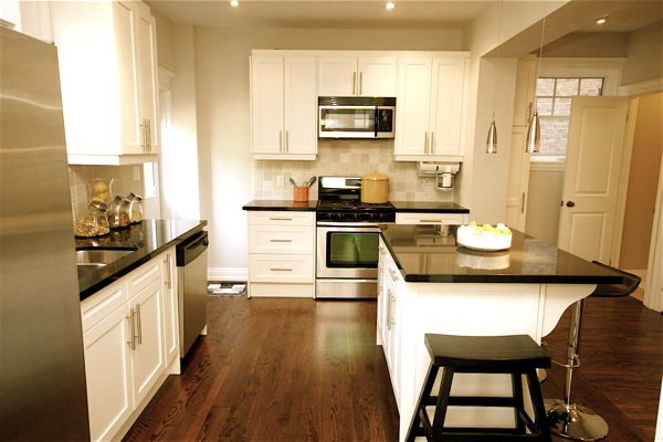 Kitchen, 79 St. Clements, Toronto Home Staging
