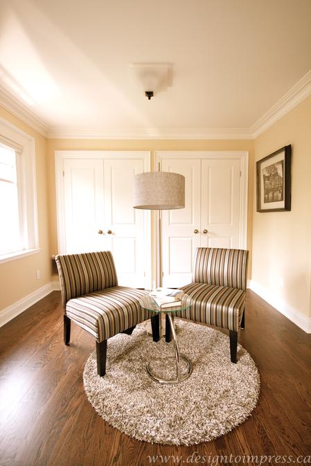 Reading Room, 79 St. Clements, Toronto Home Staging