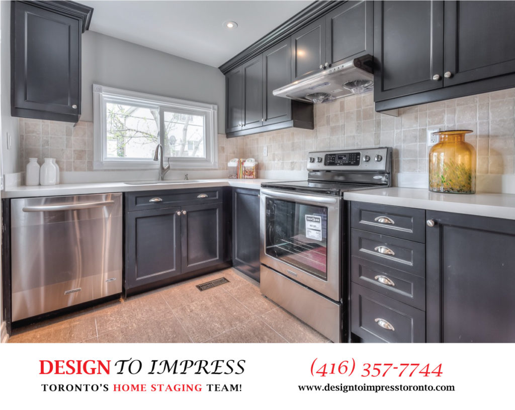 Appliances, 22 Rhodes, Toronto Home Staging
