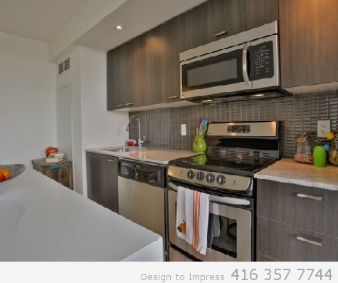 Appliances, 78 Tecumseth, Toronto Condo Staging
