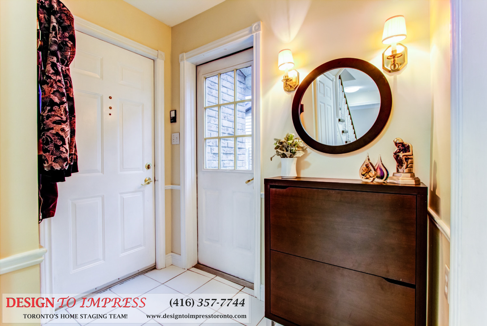 Backdoor, 133 Huntington Park, Thornhill Home Staging