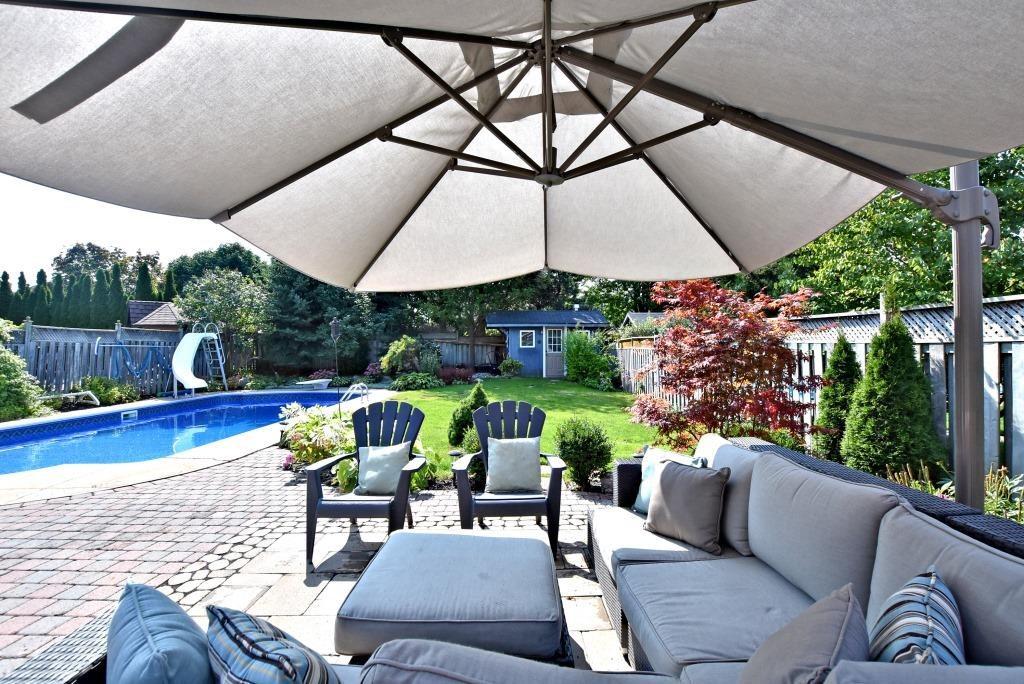 Backyard, 91 Wheeler, East York Home Staging