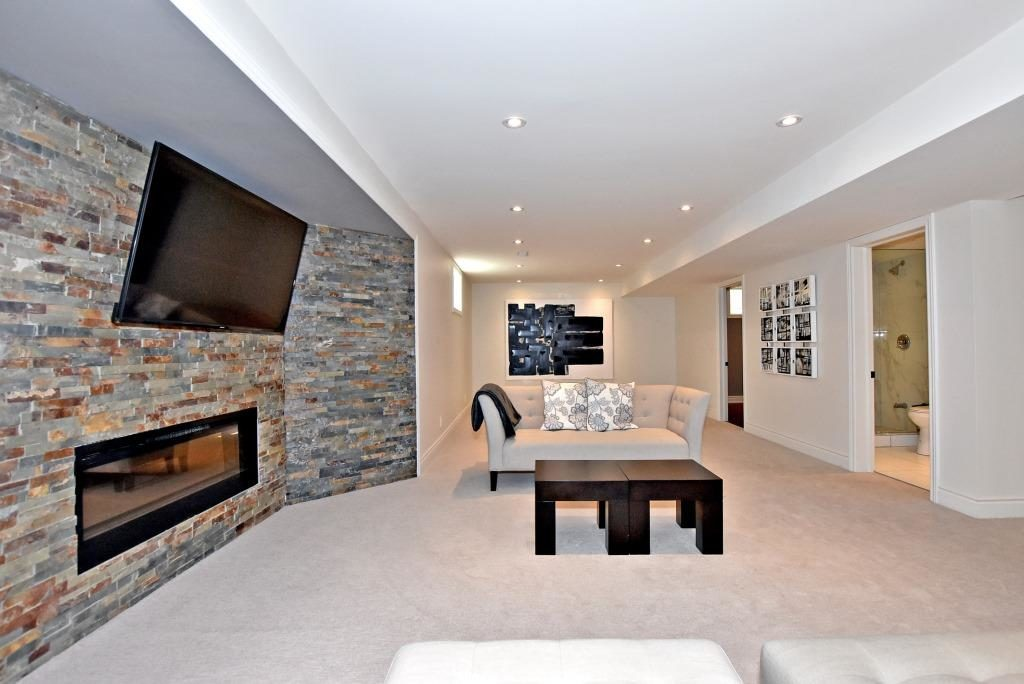 Basement, 91 Wheeler, East York Home Staging