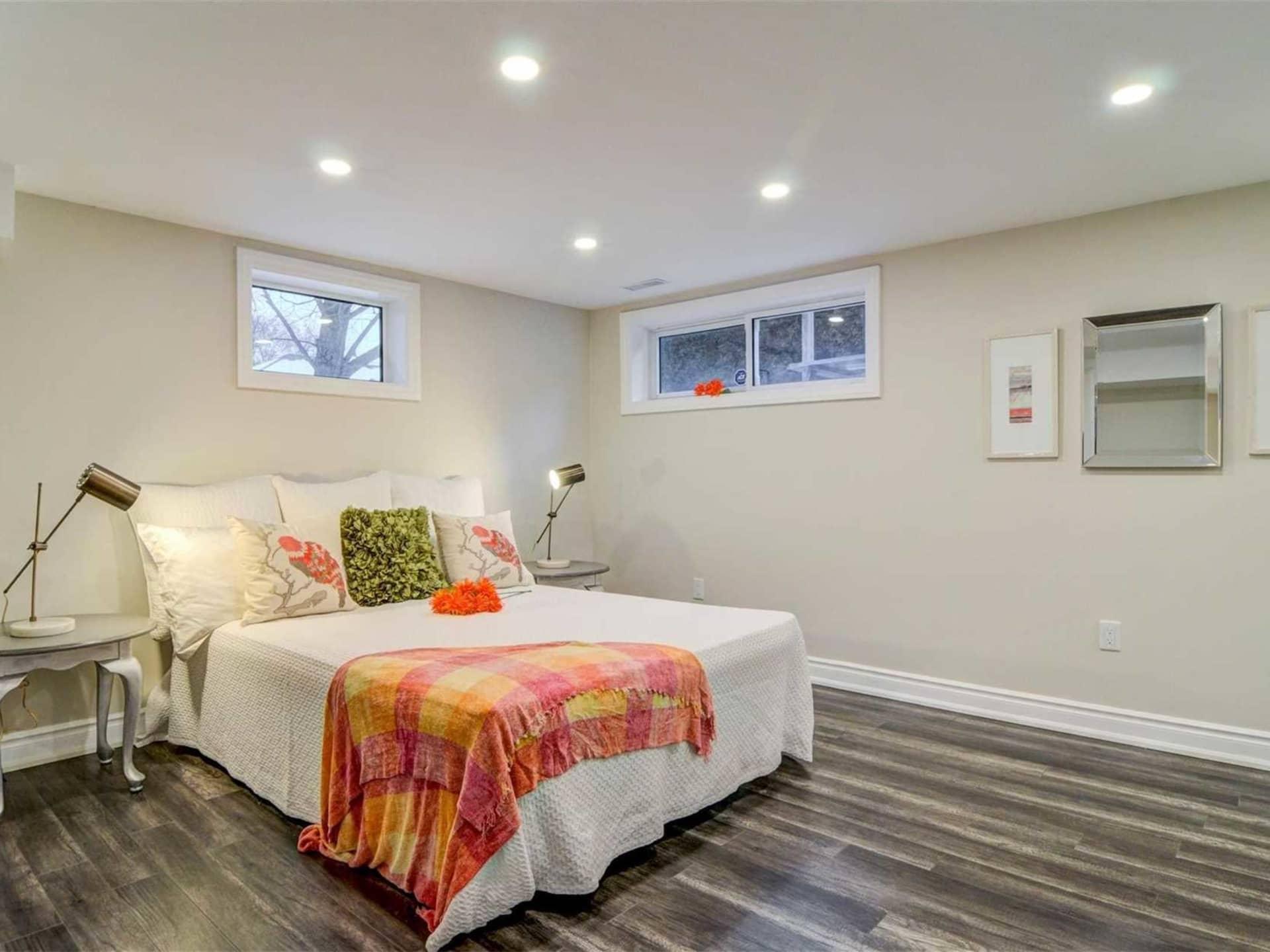 Basement Bedroom, 9 Lloyd Manor, Toronto Home Staging