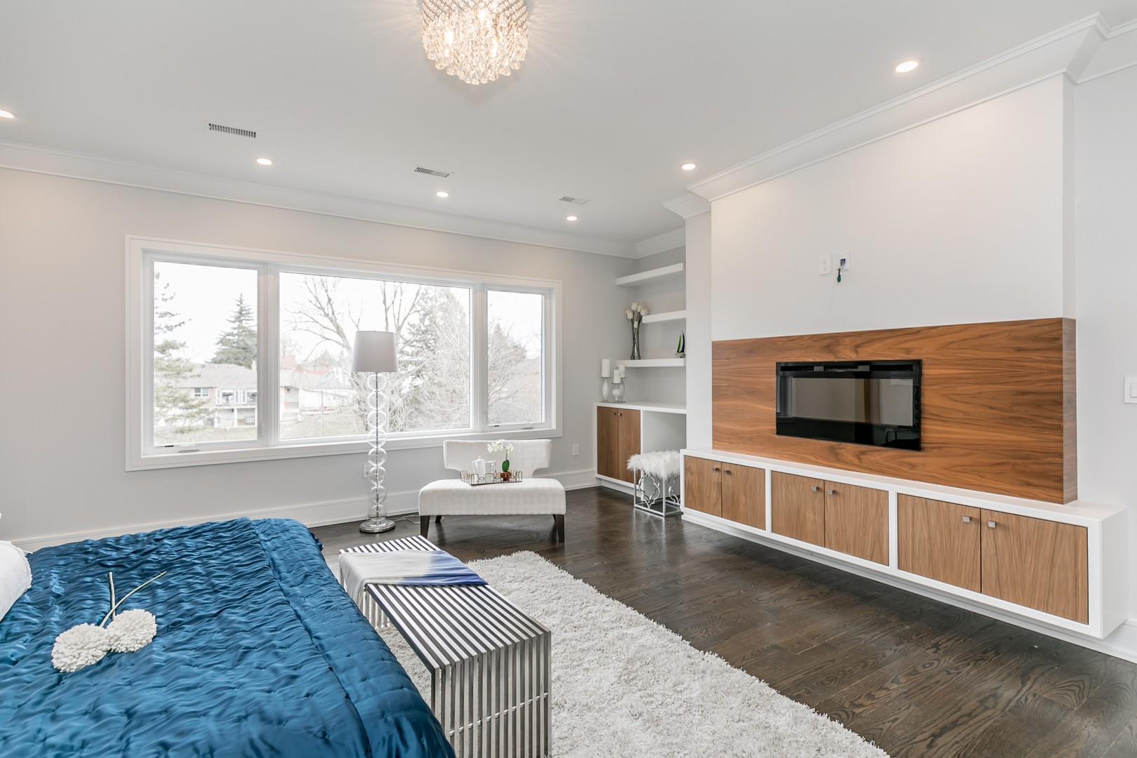 Bedroom View, 19 Ryder, Vaughan Home Staging