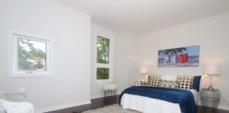 Bedroom, 161 Fifth, Etobicoke Home Staging