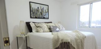Bedroom, 2035 Asta Drive, Mississauga Home Staging