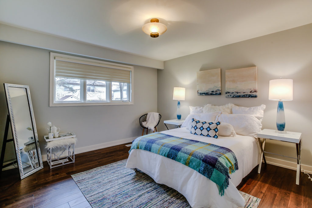 Bedroom, 26 Boxbury, Etobicoke Home Staging