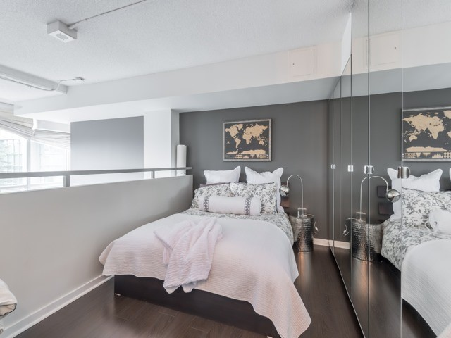 Bedroom, 300 Manitoba, Toronto Condo Staging