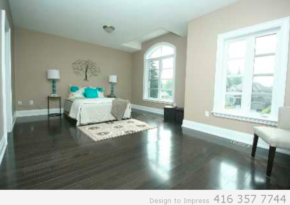 Bedroom, 448 Toynevale, Pickering Home Staging