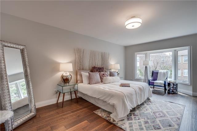 Bedroom, 66 Springfield, Thornhill Home Staging