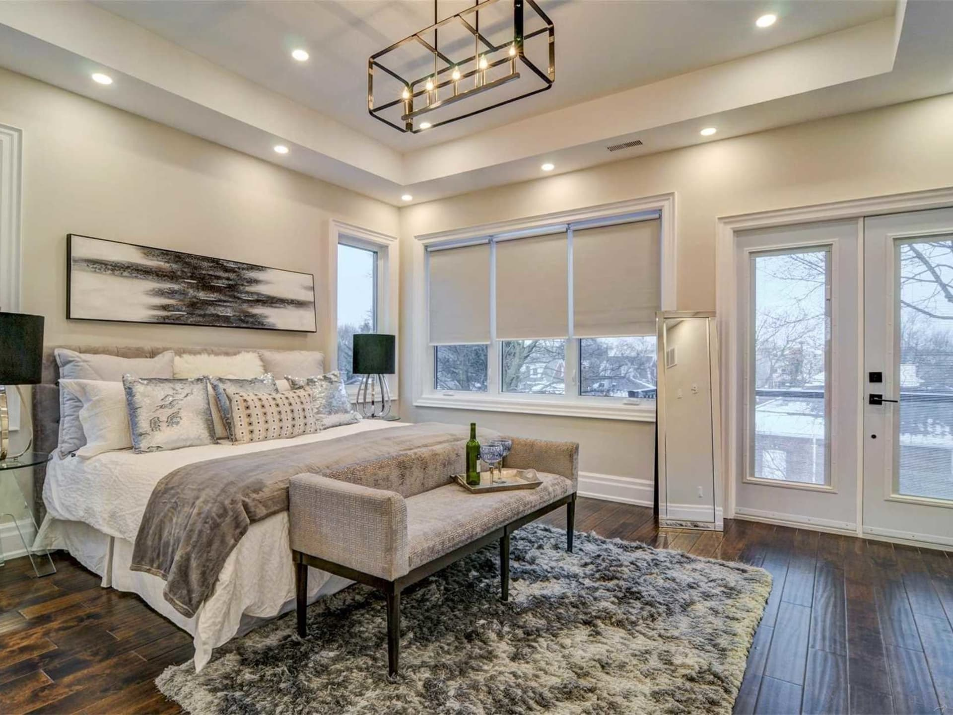 Bedroom, 9 Lloyd Manor, Toronto Home Staging