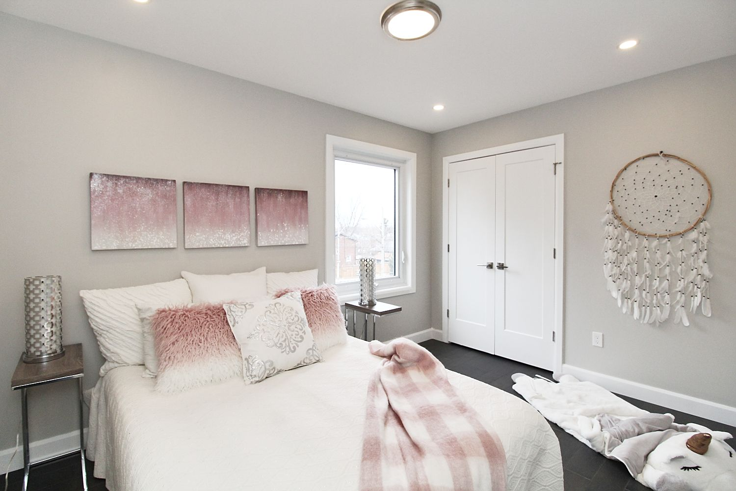 Bedroom Angle View, 182 Oak Park, East York Home Staging