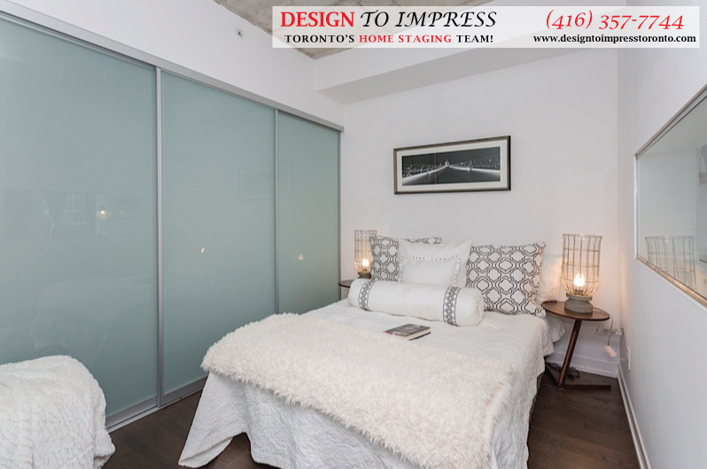 Bedroom, Fashion House, Toronto Condo Staging