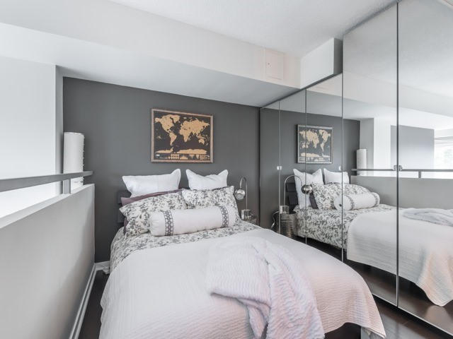 Bedroom Mirrors, 300 Manitoba, Toronto Condo Staging