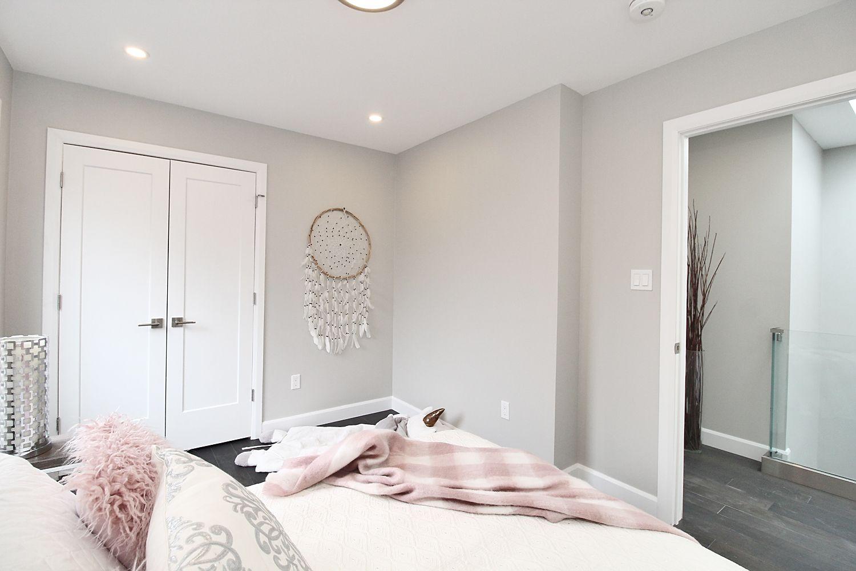 Bedroom Side, 182 Oak Park, East York Home Staging
