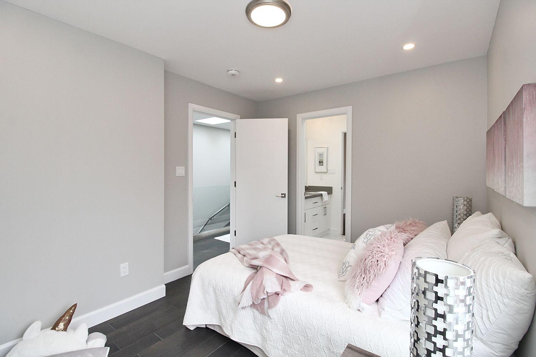 Bedroom Side View, 182 Oak Park, East York Home Staging