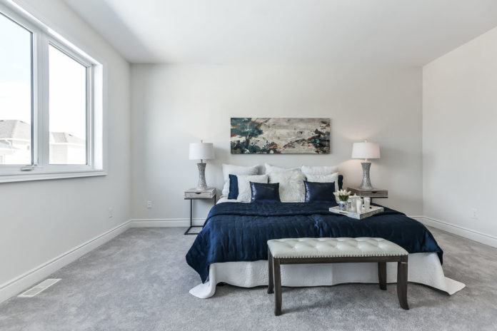 Bedroom View, 571 Windfields Farm, Oshawa Home Staging