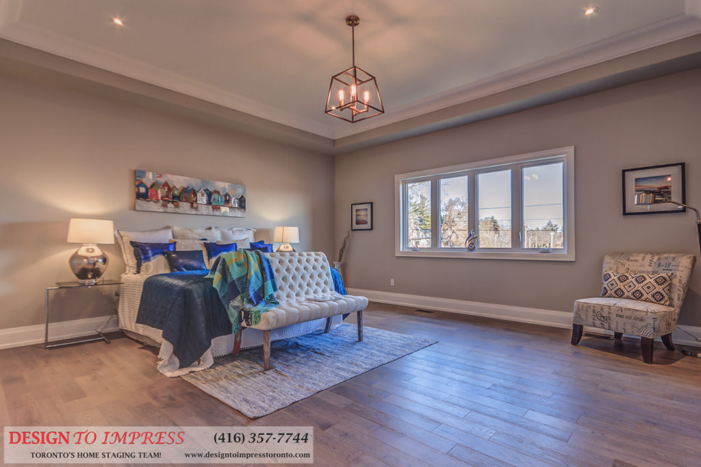 Bedroom Windows, 1297 Fawndale, Pickering Home Staging
