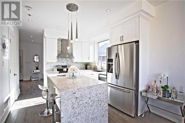 Breakfast Bar, 1204 Islington, Toronto Home Staging