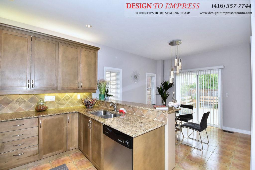 Countertop, 132 Israel Zilber, Vaughan Home Staging