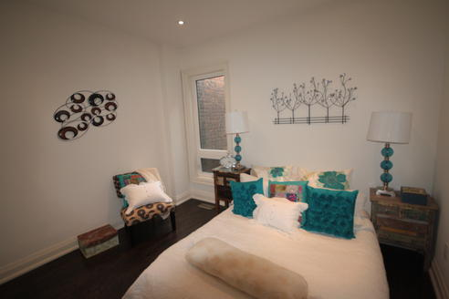 Bedroom, Crawford House, Toronto Home Staging