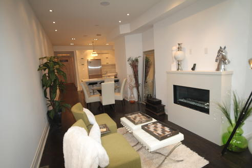 Fireplace, Crawford House, Toronto Home Staging