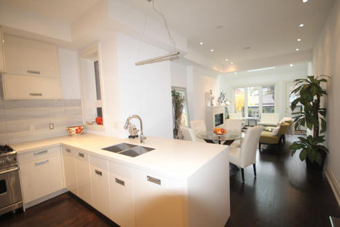 Kitchen, Crawford House, Toronto Home Staging