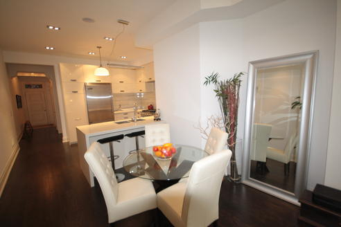 Eat-in Kitchen, Crawford House, Toronto Home Staging
