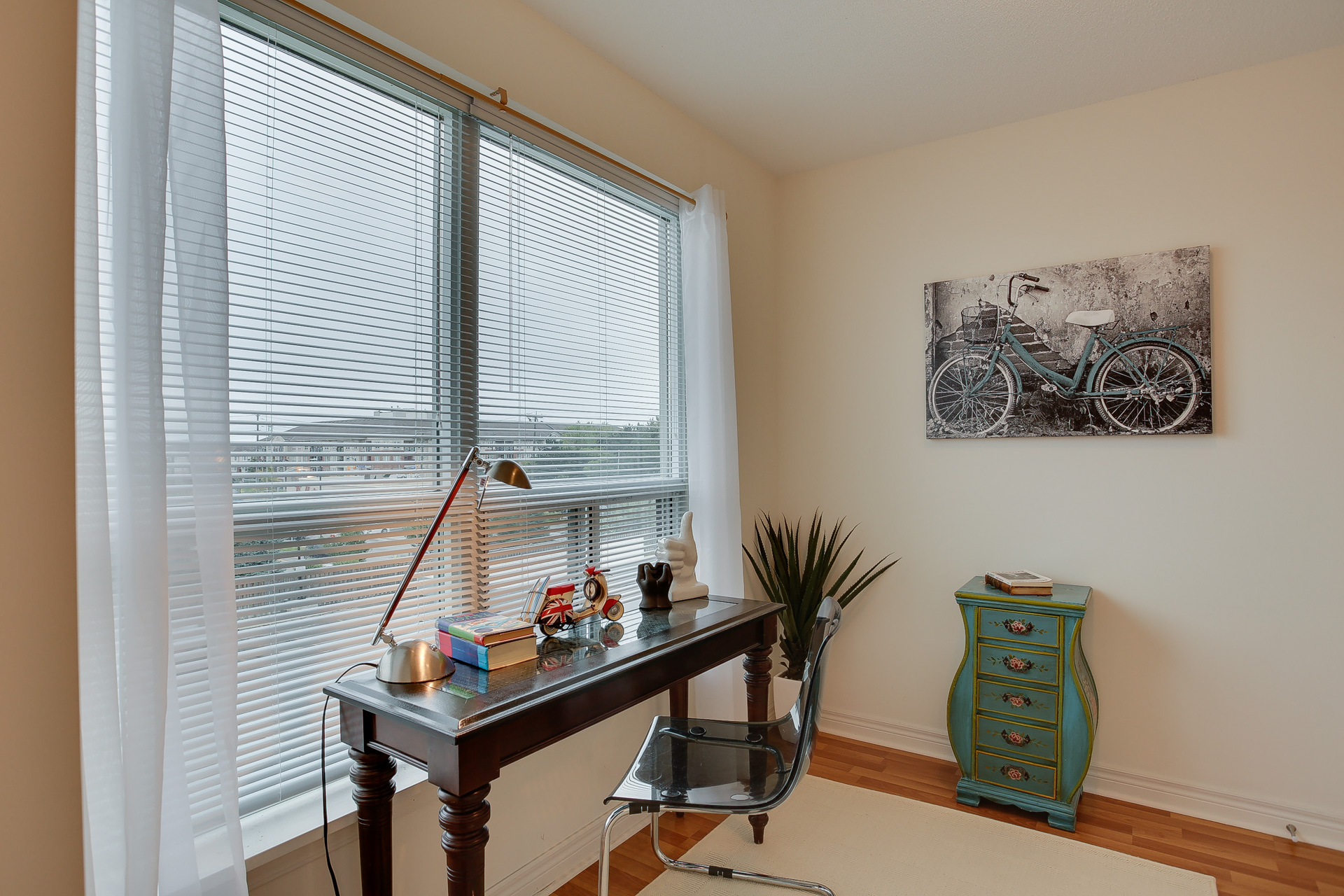 Den, 60 Fairfax, Scarborough Condo Staging