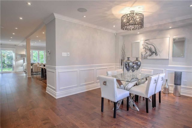 Dining Area, 202 Windermere, Toronto Home Staging