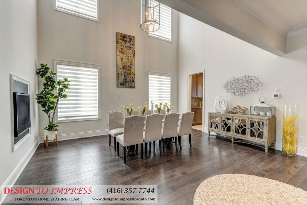 Dining Room, 30 Spain, Brampton Home Staging