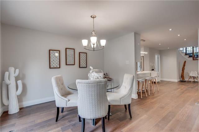 Dining Area, 66 Springfield, Thornhill Home Staging