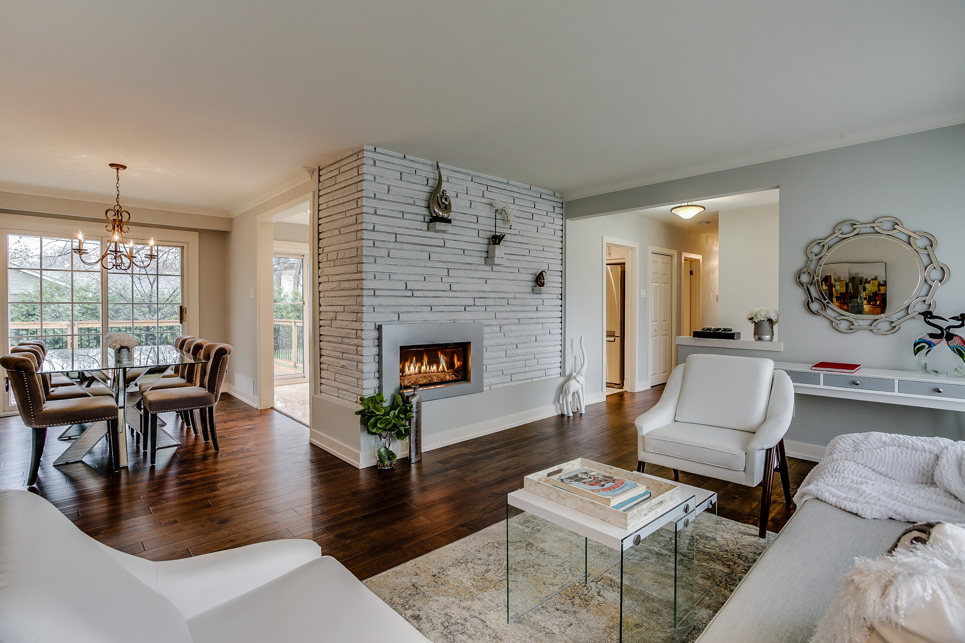 Dining and Living Room, 26 Boxbury, Etobicoke Home Staging