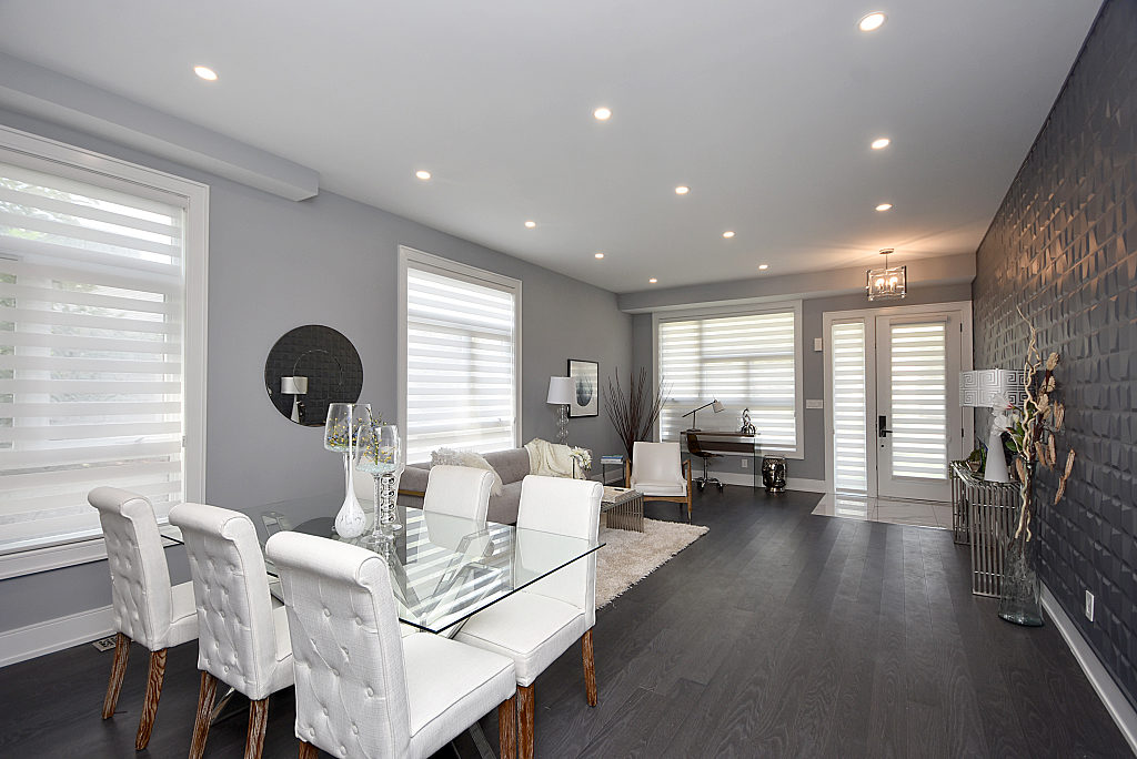 Dining Room and Living Room, 948 Third, Mississauga Home Staging