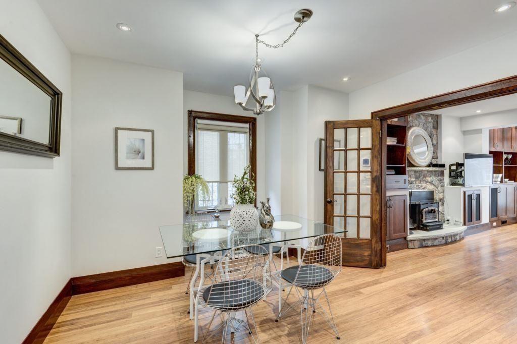 Dining Room, Living Room, Doorway, 50 Albert, Etobicoke Home Staging