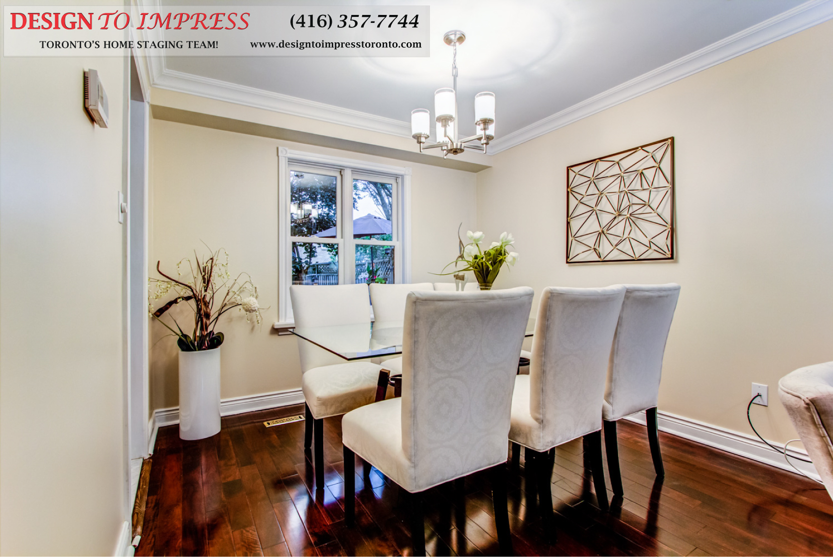 Dining Room, 133 Huntington Park, Thornhill Home Staging