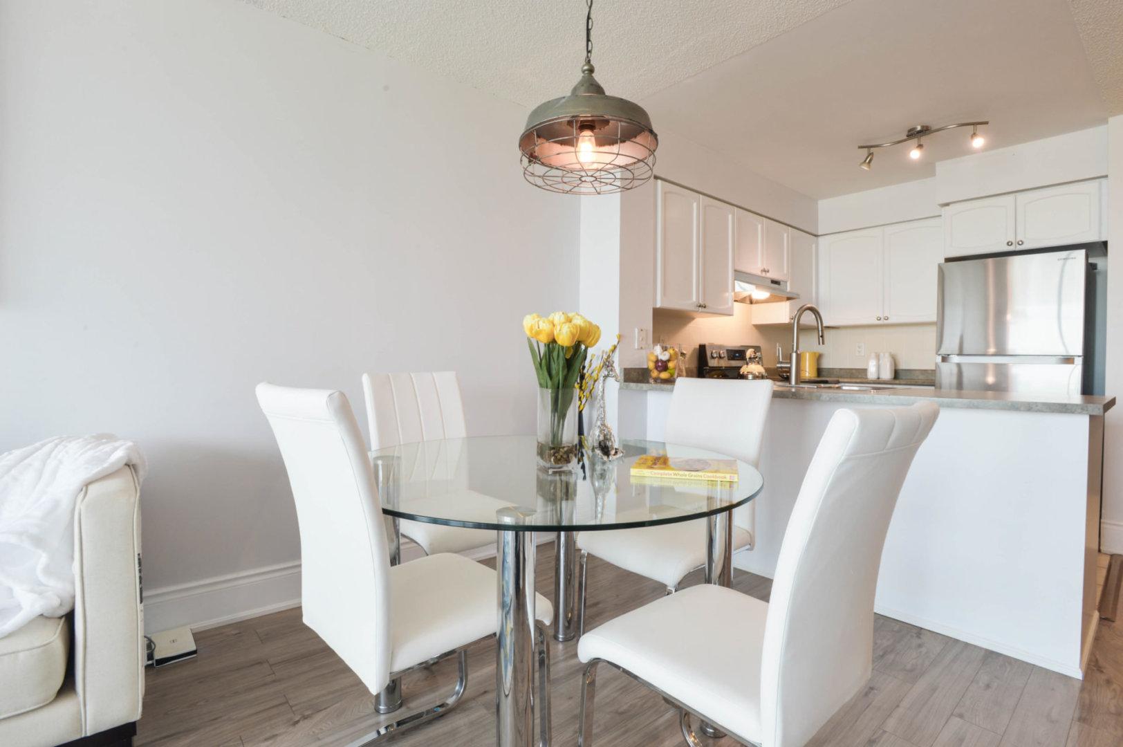 Dining Room, 231 Fort York, Toronto Condo Staging
